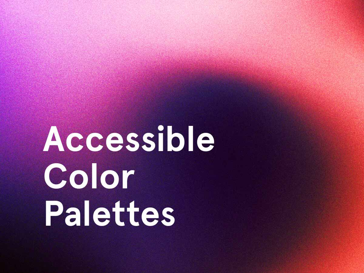 Accessible Colour Palettes for Figma