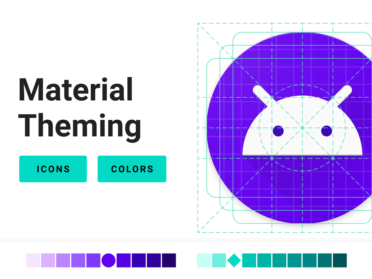 Android Material Theming Figma UI Kit