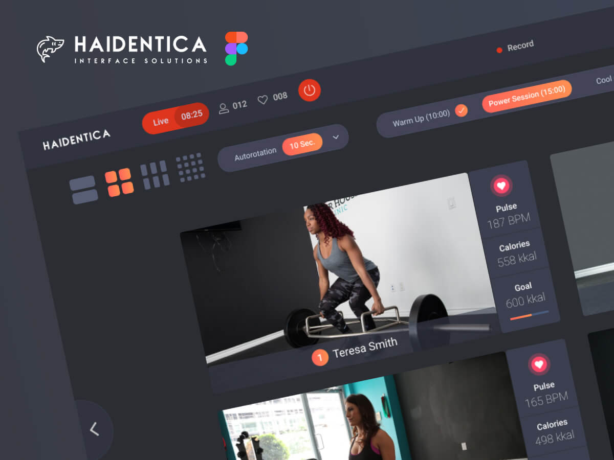 Fitness Figma UI Kit