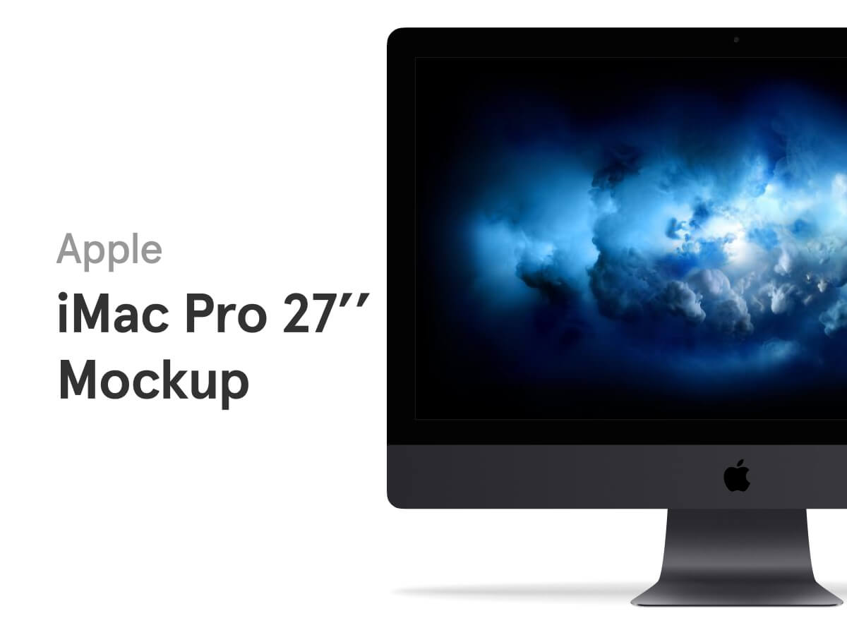 iMac Pro 27 Figma Mockup