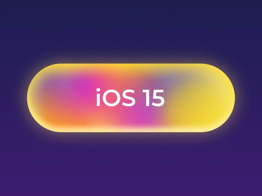 iOS 15 Button Figma