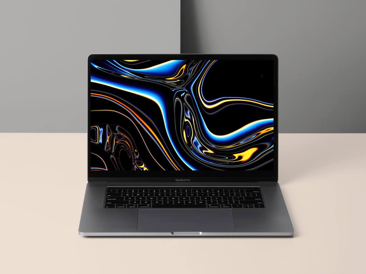Macbook Pro Figma Mockup