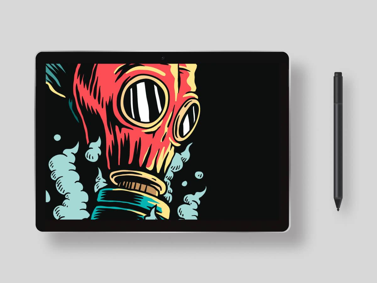 Microsoft Surface Book 3 Figma Mockup