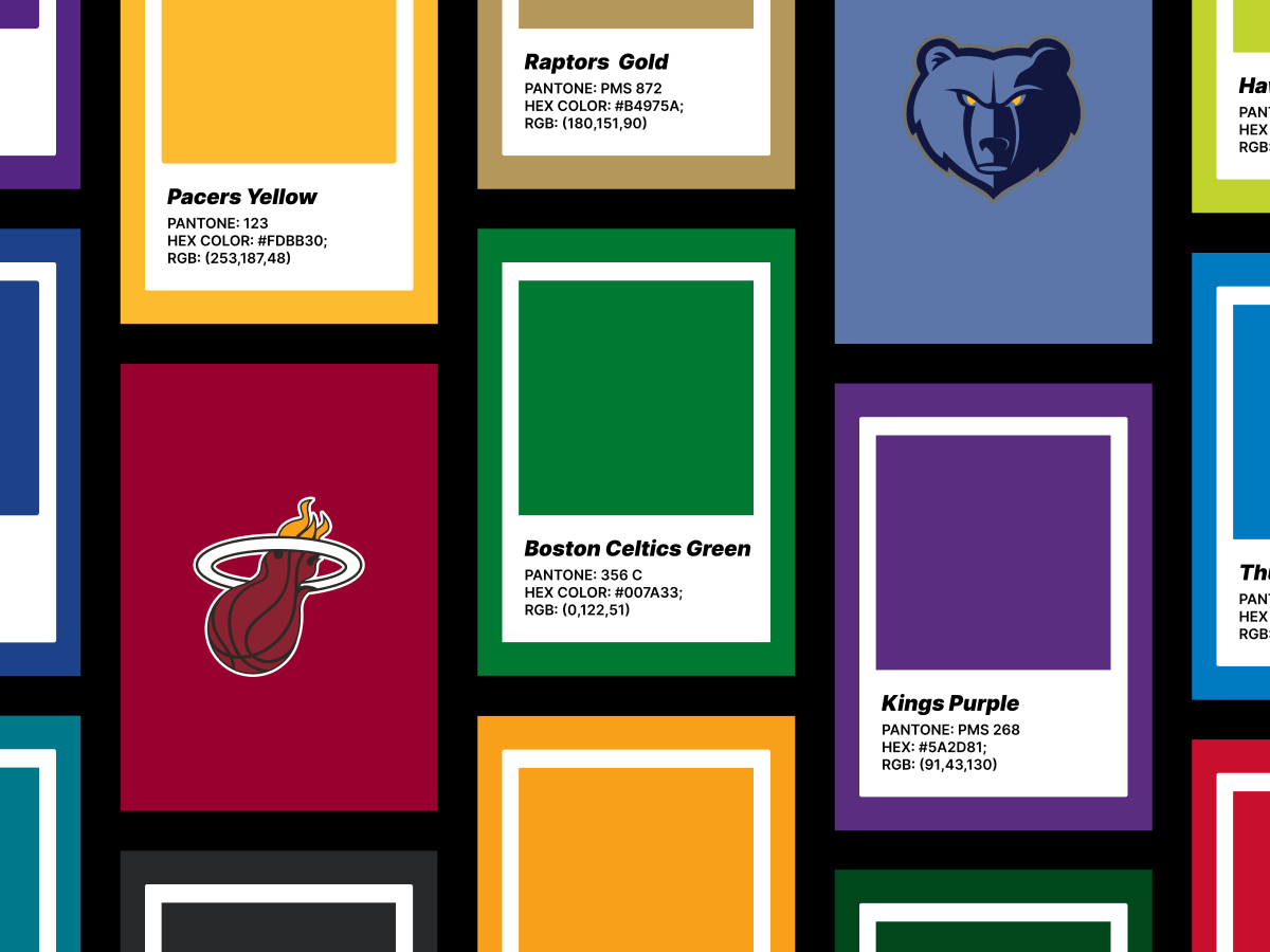 NBA Figma Colors