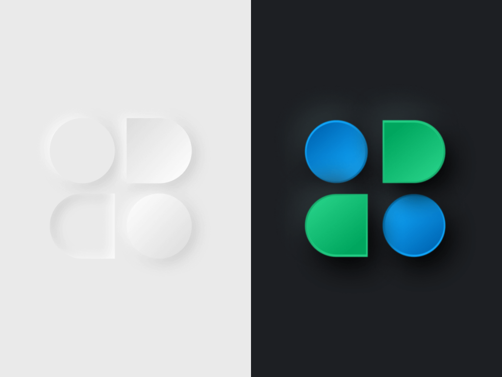 Neumorph Buttons Figma