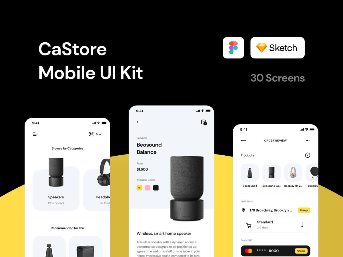 Premium Store App Figma UI Kit