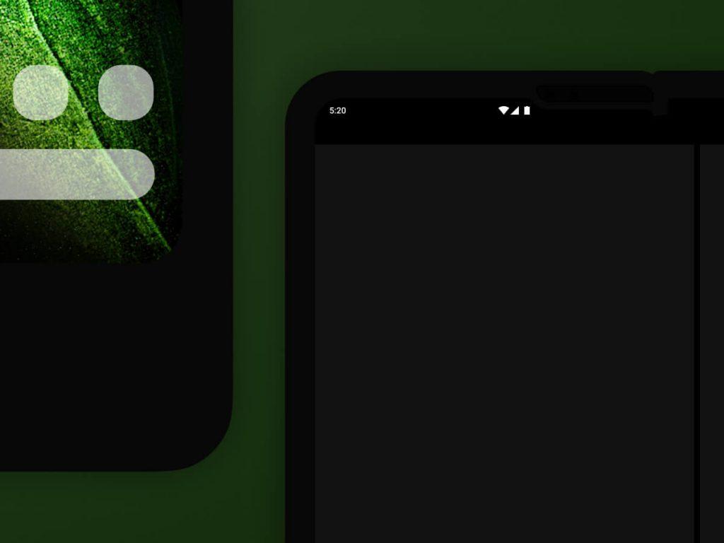 Samsung Galaxy Fold Figma Mockup