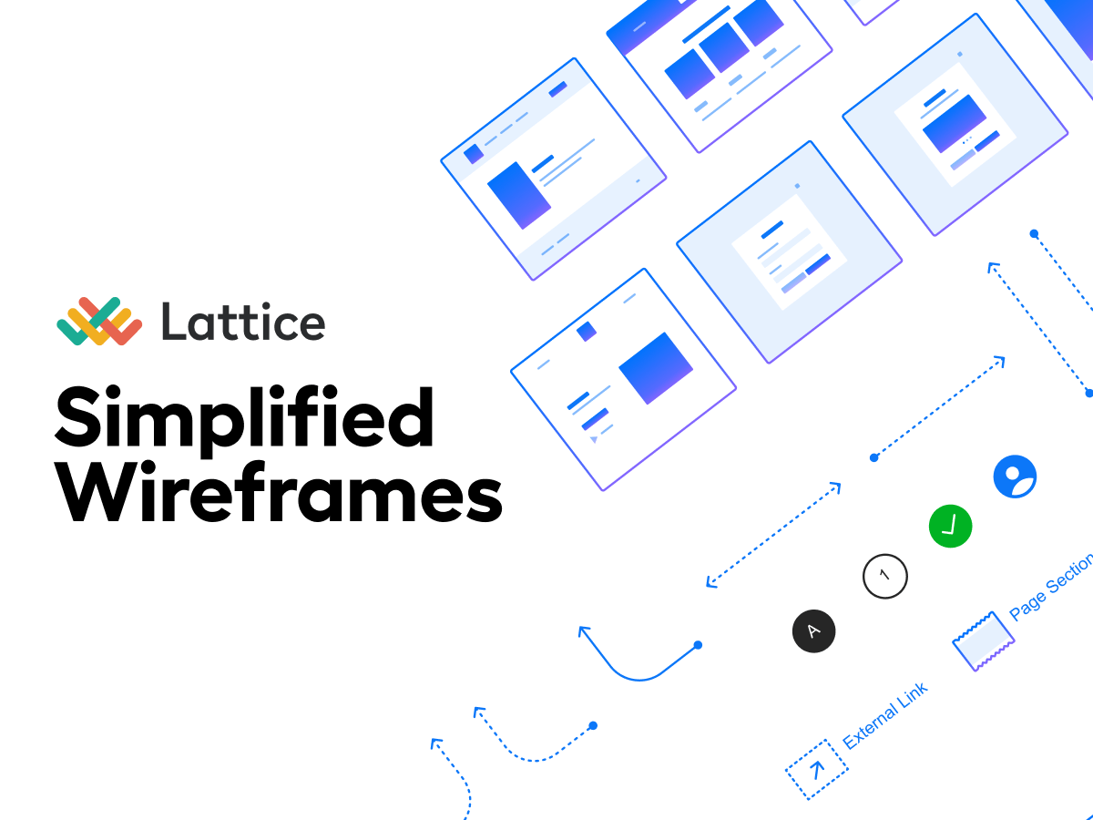 Simplified Wireframes - Figma UI Kits
