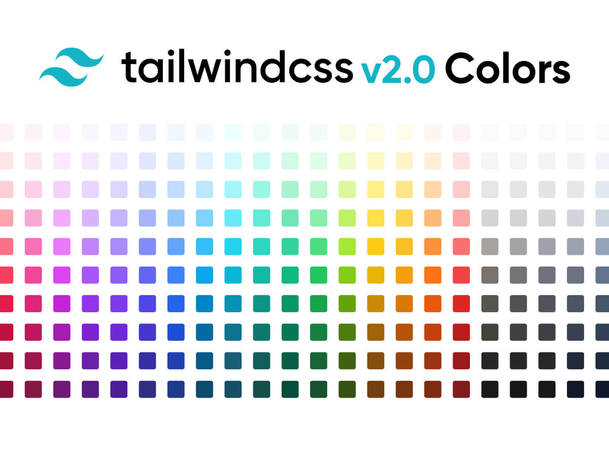TailwindCSS Colors - Figma UI Kit