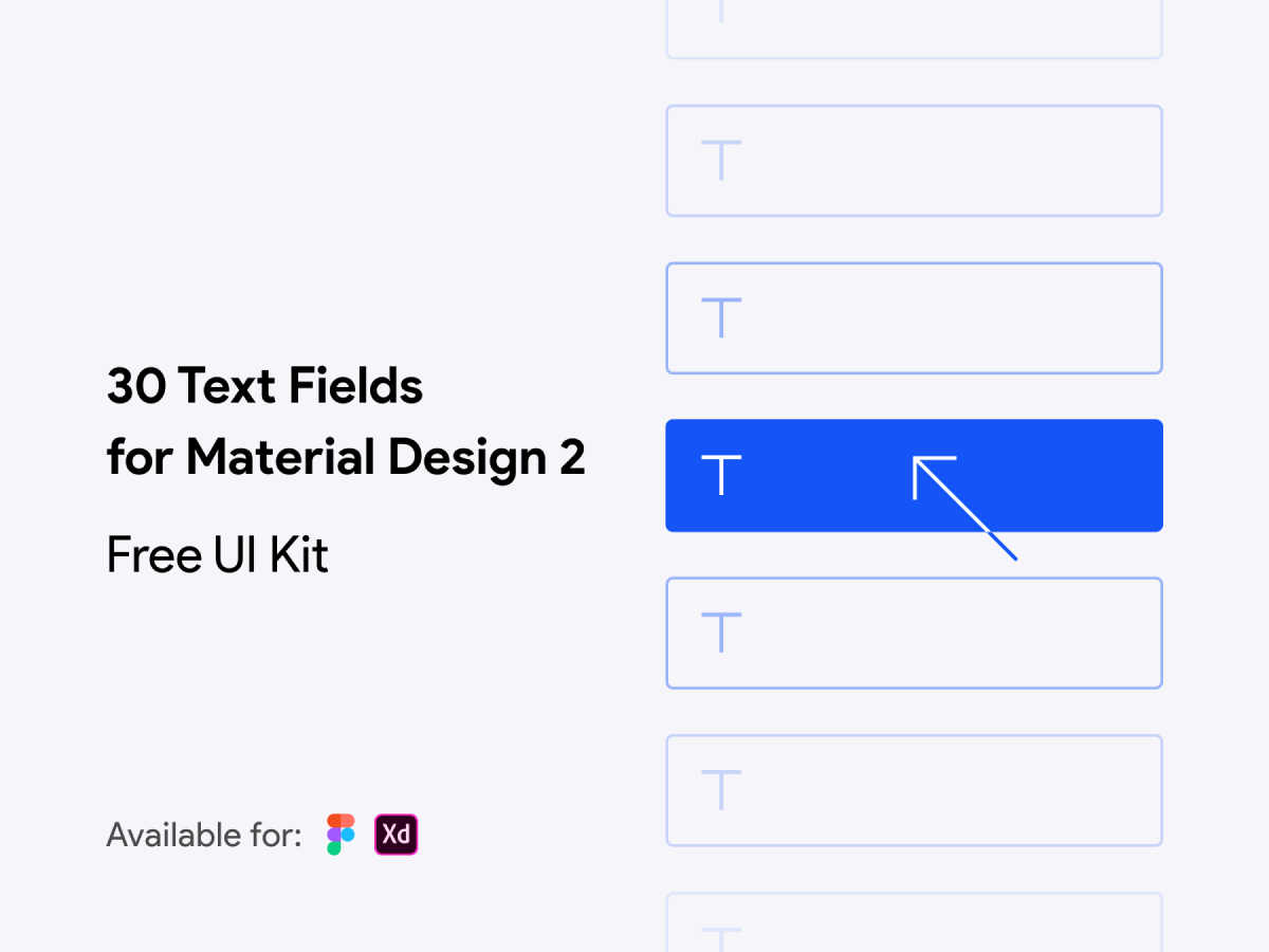 Text Fields Figma UI Kit