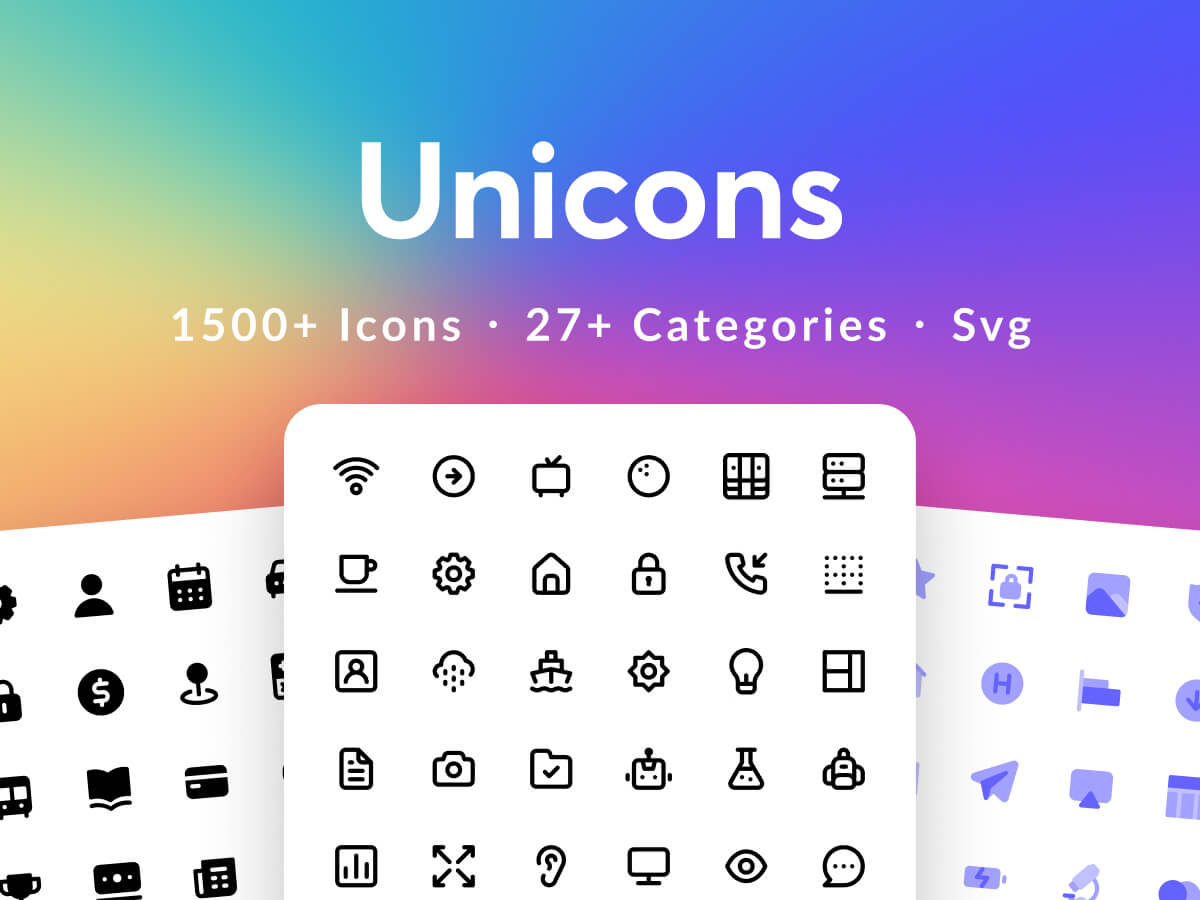 Unicons Figma Icon Pack
