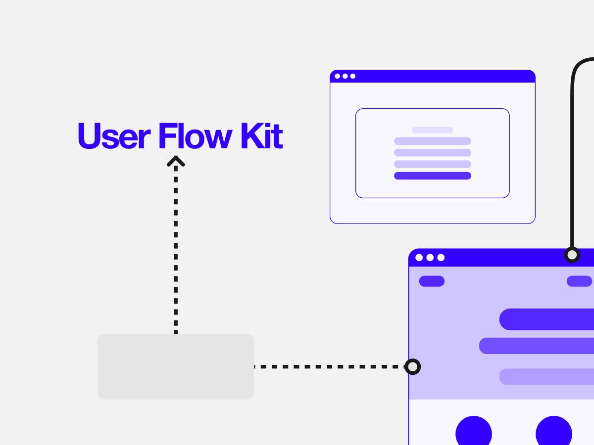 User Flow Figma UI Kit