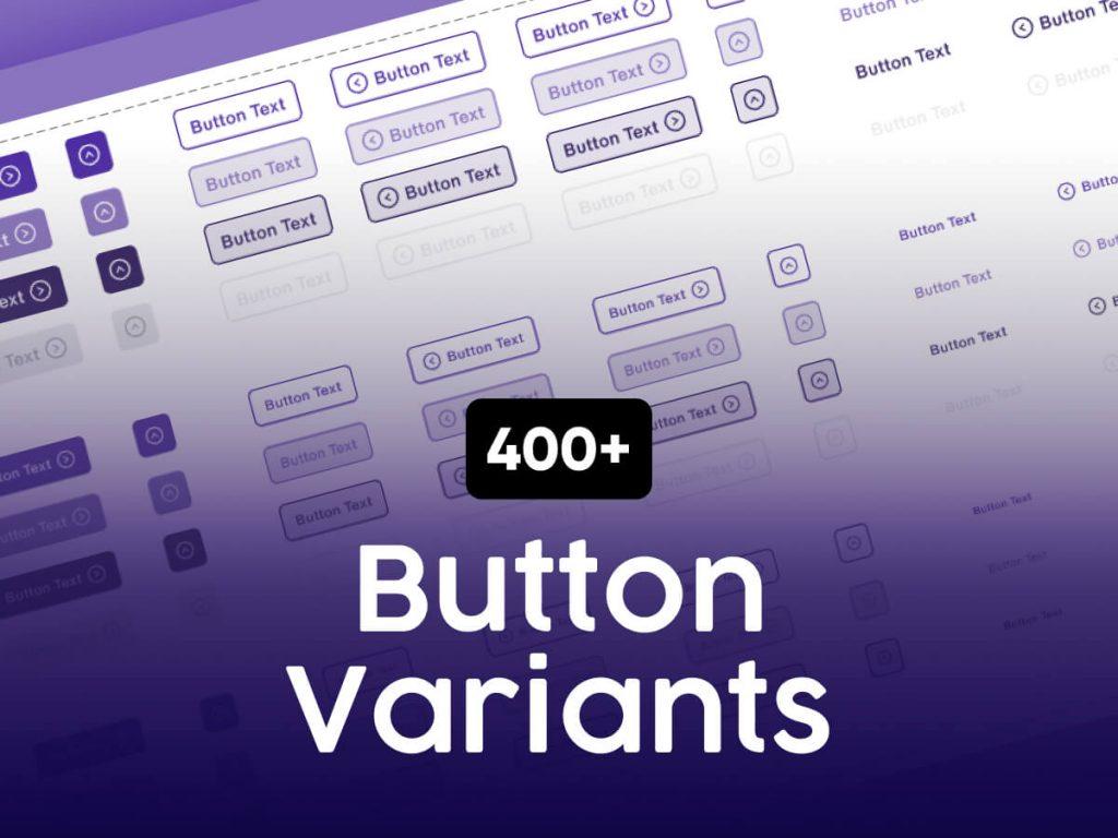 400+ Button Variants