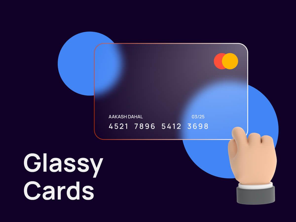 Glassy Cards