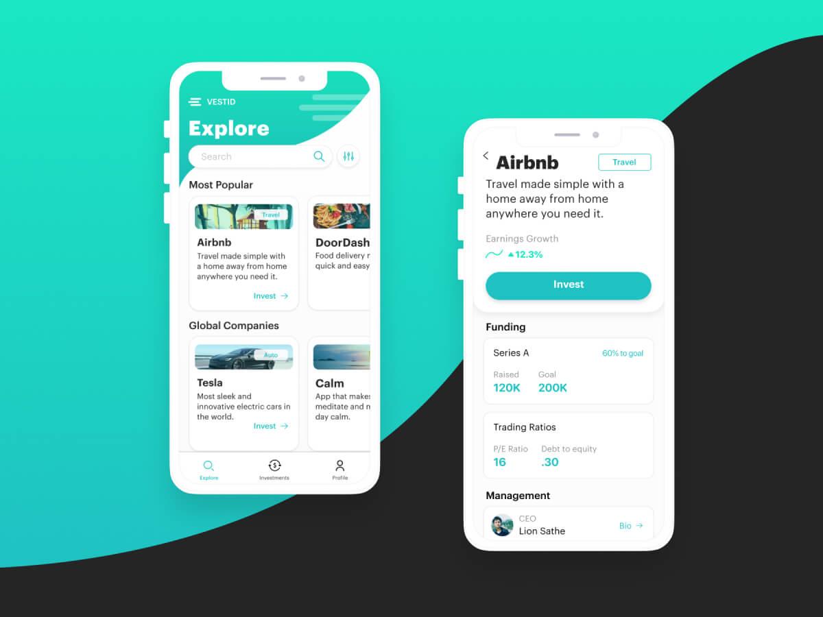 Investment App UI Kit