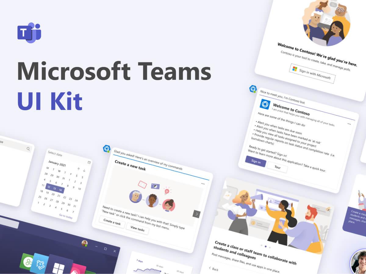 Microsoft Teams Figma UI Kit