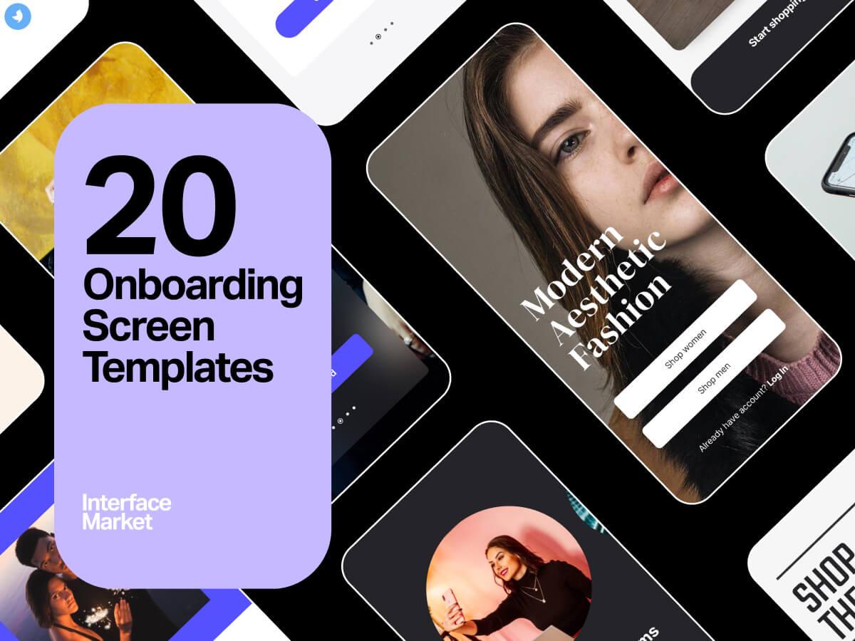 Onboarding UI Design Templates