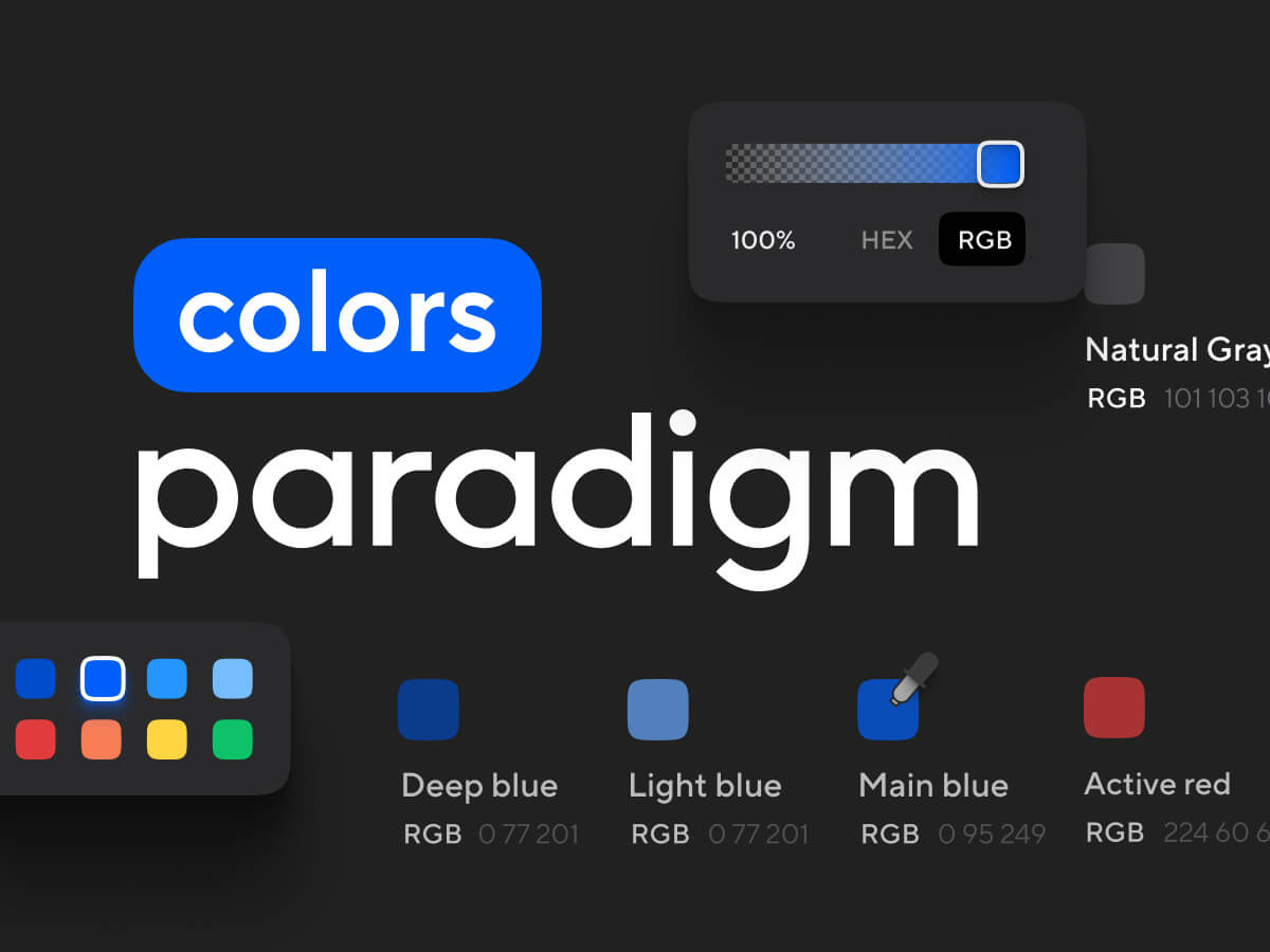 Paradigm Colors