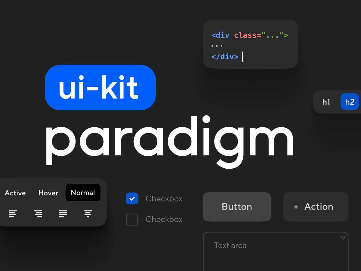 Paradigm UI Kit