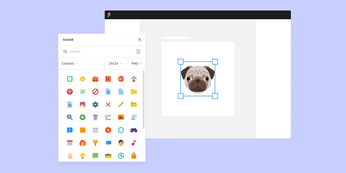 Icons8 Free Icons Figma Plugin