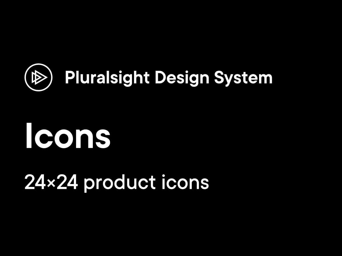 Pluralsight Web Icons