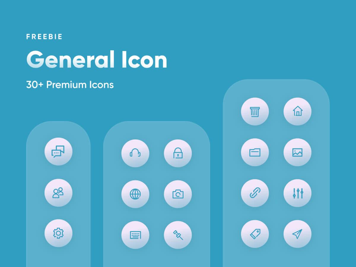 General Premium Icon Set