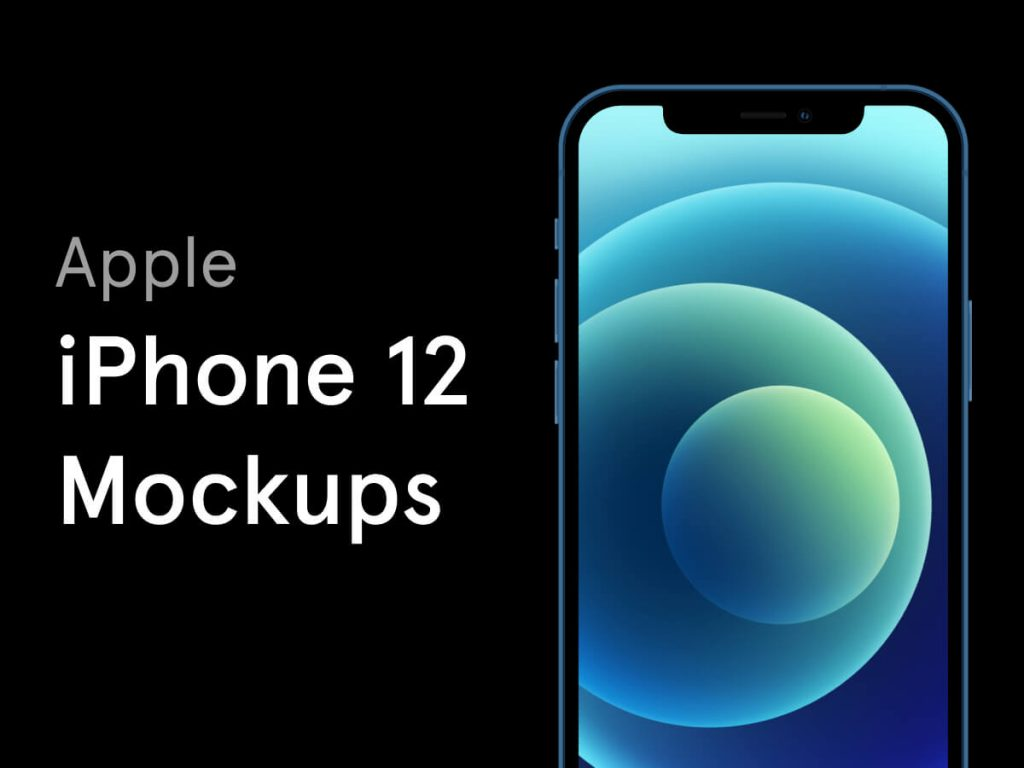 iPhone 12 Free Figma Mockups