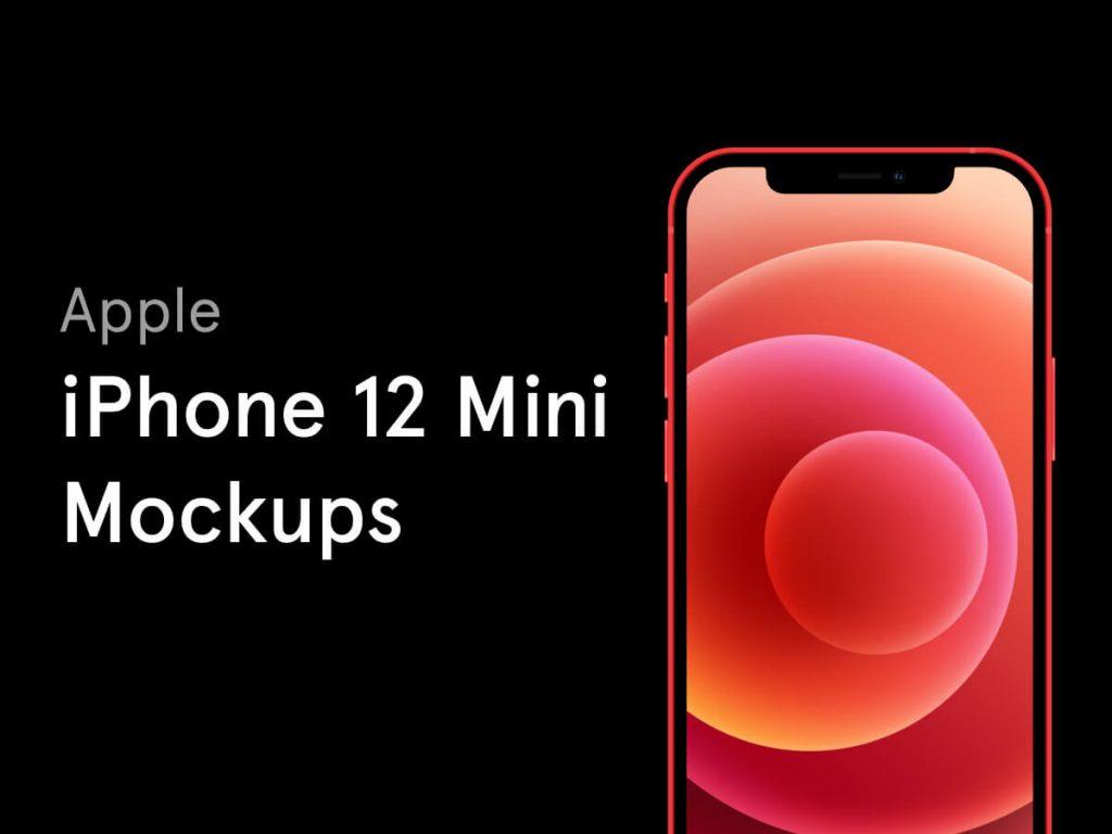 iPhone 12 Mini Free Figma Mockups