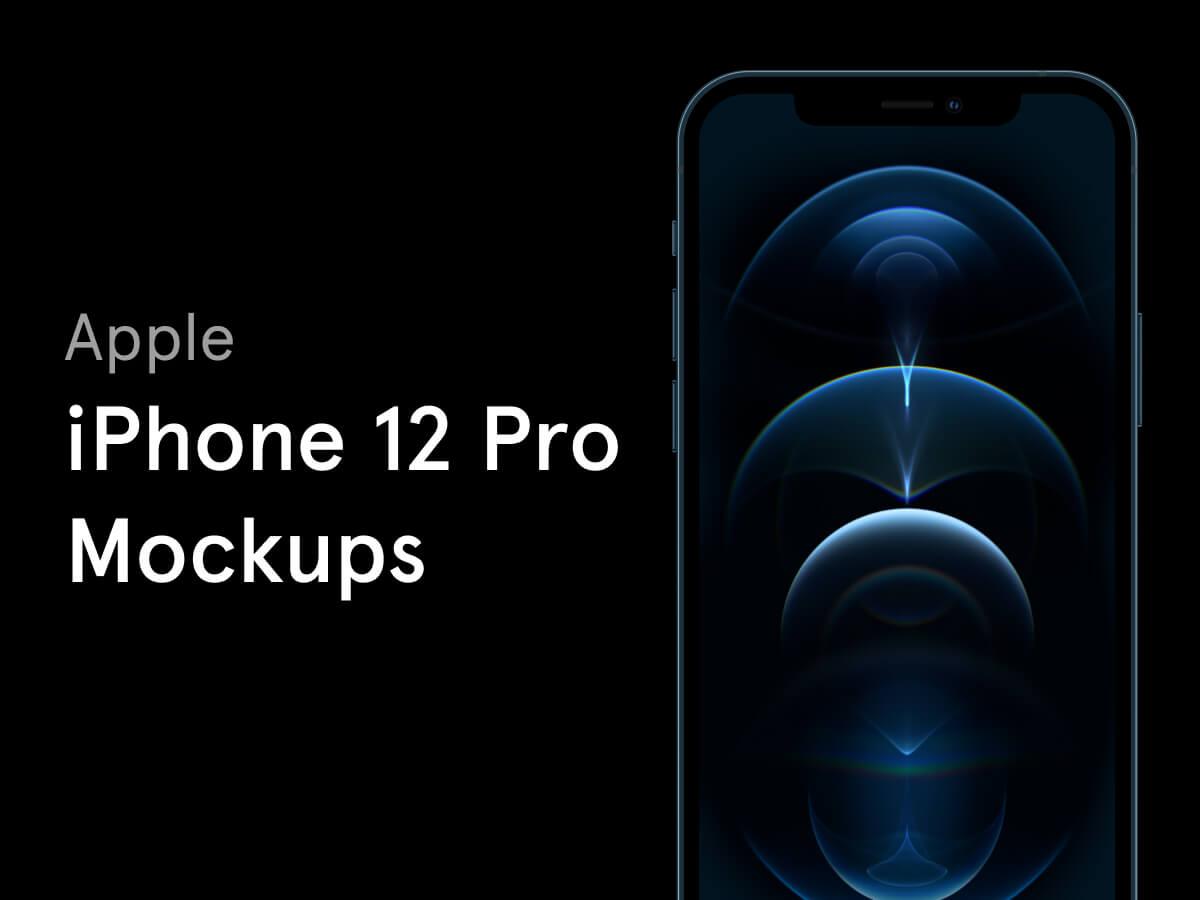 iPhone 12 Pro Free Figma Mockup