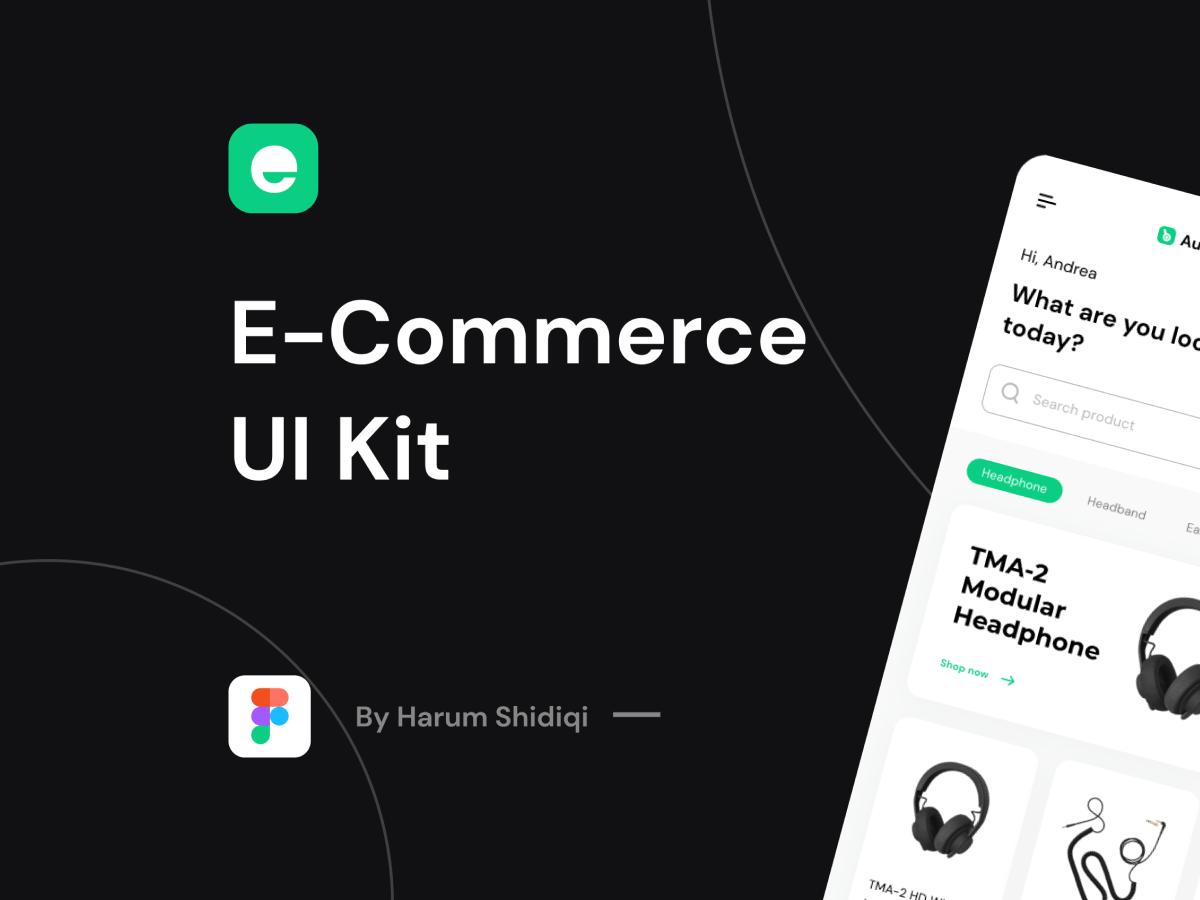 Subtle E-Commerce UI Kit