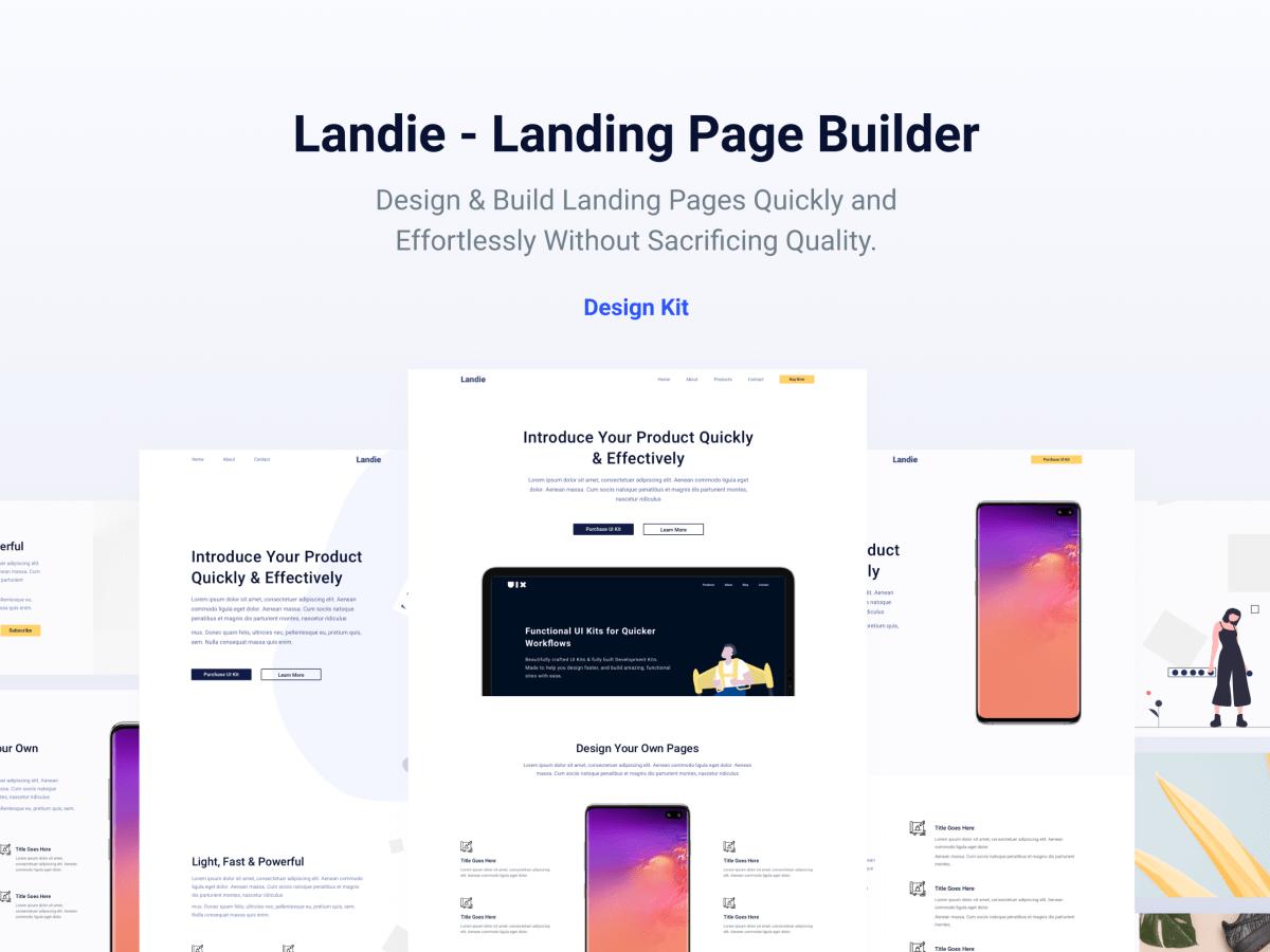 Landie Page Builder