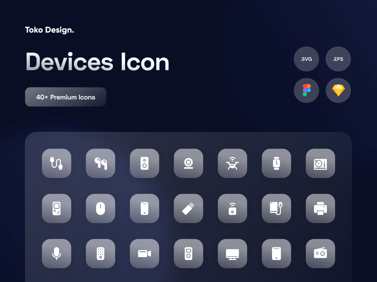 Devices Icon Pack Figma