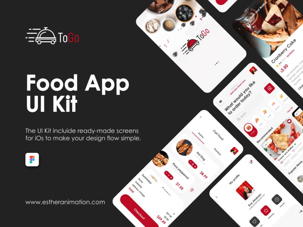 Food App Mobile UI Kit