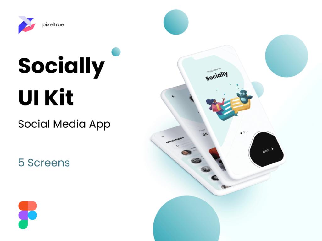 Social Media Mobile App Figma